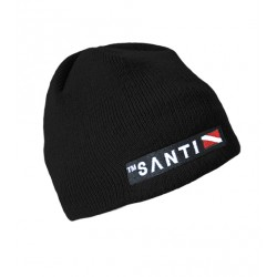 SANTI Beanie Hat Negre