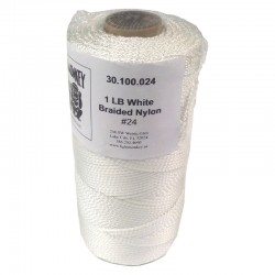 LIGHT MONKEY bobina 220m fil guia nylon 24 blanc