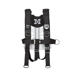 XDEEP NX DELUXE Backplate Aluminium Complete
