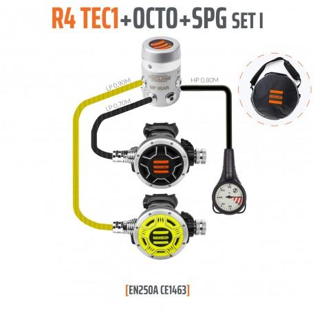 TECLINE R4 TEC1 Set1 Regulator pack