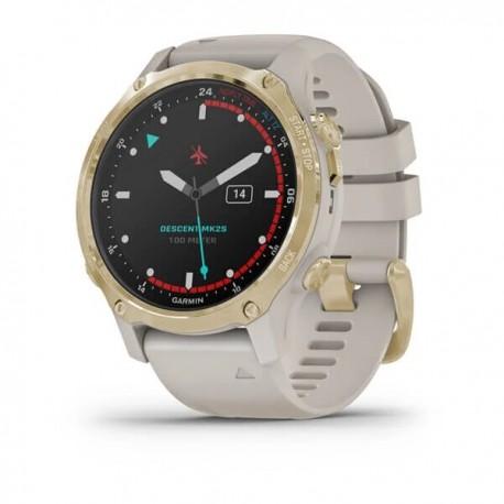 GARMIN Descent MK2s Dive Watch Gold-Beige