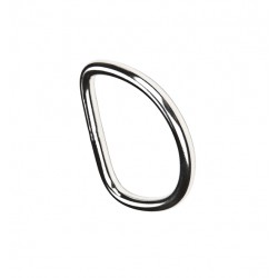 XDEEP anella D inox recta