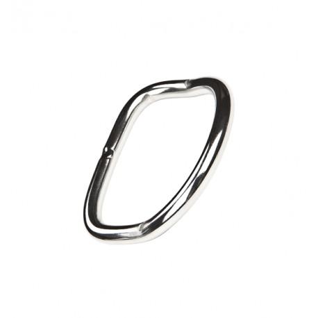 XDEEP Bent D-Ring SS