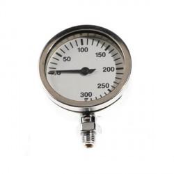 DIR ZONE Pressure Gauge 63mm 0-300 bar