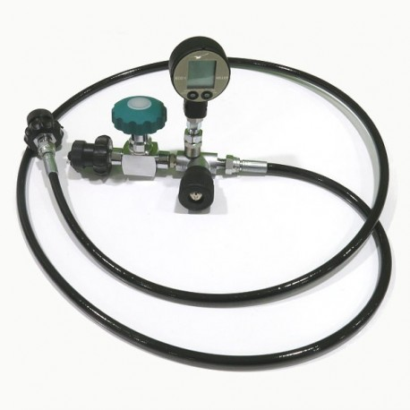 Decanting Hose DIN 300 bar Oxygen Digital ECO1