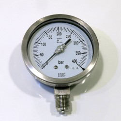 Analogic Pressure Gauge 100mm, 300 bar OXYGEN