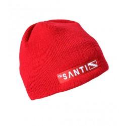 SANTI Beanie Hat Red