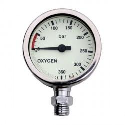 DIR ZONE Pressure Gauge OXY 52mm 0-360 bar