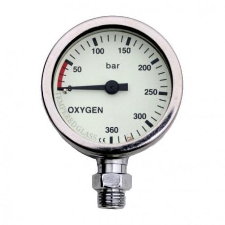 DIR ZONE Manòmetre OXY 52mm 0-360 bar