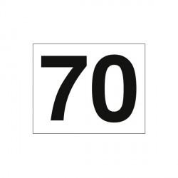 Etiqueta MOD 70
