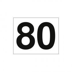 Etiqueta MOD 80